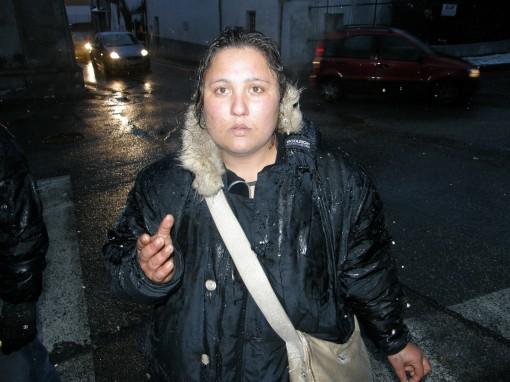 Sanja Radulovic, moglie del rom scomparso a Collegno